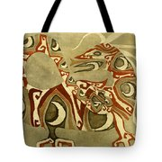 Crescent Dragon Tote Bag