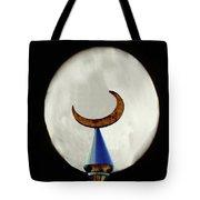 Crescent Full Moon Tote Bag