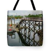 Crescent Harbor Tote Bag