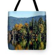 Crescent Lake Fall Colors Tote Bag