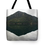 Crescent Lake Reflection Tote Bag