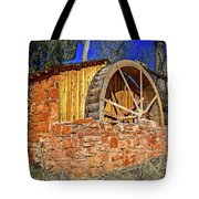 Crescent Moon Ranch Water Wheel Tote Bag