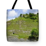 Cressbrook Dale Opposite To Tansley Dale Tote Bag