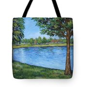 Crest Lake Park Tote Bag