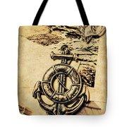 Crest Of Oceanic Adventure Tote Bag