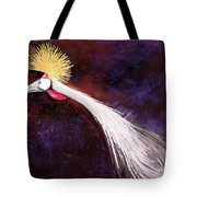Crested Bird Tote Bag