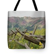 Crested Butte Color Tote Bag