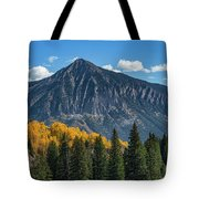 Crested Butte Mountain Tote Bag