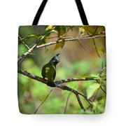 Crested Finchbill 2 Tote Bag