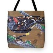 Crested Honeycreeper Tote Bag