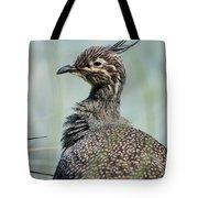 Crested Tinamou Tote Bag