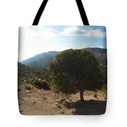 Crete Inland View Tote Bag