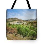 Crete Olive Grove Tote Bag