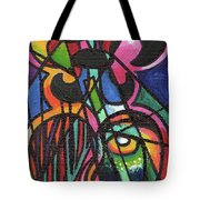 Creve Coeur Streetlight Banners Whimsical Motion 19 Tote Bag