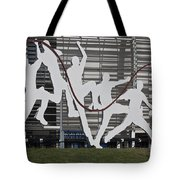 Cricket Art Sculpture Southampton Tote Bag