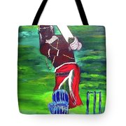 Cricket Warrior Tote Bag