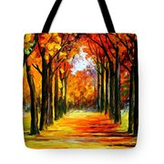 Crimson Alley Tote Bag