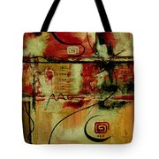 Crimson And Copper Tote Bag