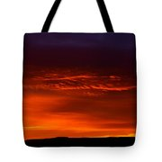 Crimson Dawn  Tote Bag