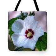 Crimson-eyed Rosemallow Tote Bag