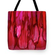Crimson Forest Tote Bag