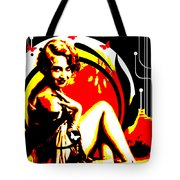 Crimson Moon Tote Bag