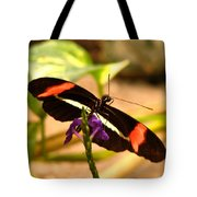 Crimson Patched Longwing 2 Tote Bag