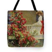 Crimson Rambler Tote Bag by Philip Leslie Hale
