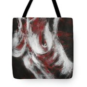 Crimson Red Tote Bag