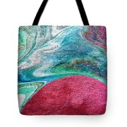 Crimson Rising  Tote Bag