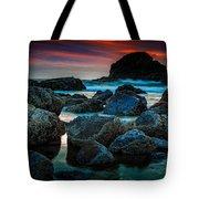 Crimson Skies Tote Bag