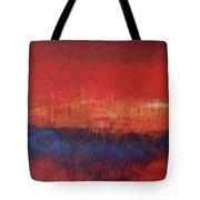Crimson Sky Tote Bag
