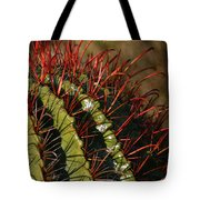 Crimson Thorns 2 Tote Bag