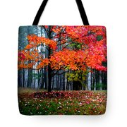 Crimson Tree Tote Bag