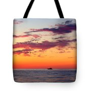 Crimson Yachting  Tote Bag