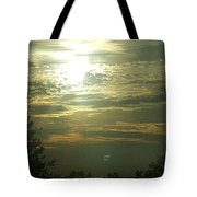 Crinkled Forehead Lines In The Sky Tote Bag