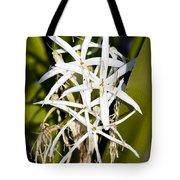 Crinum Spiderlily Flower Tote Bag