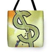 Crisis And Money Tote Bag