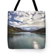 Crisped Lake Tote Bag