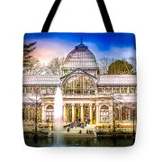 Cristal Palace Retiro Madrid Tote Bag