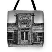 Criterion Hall Saloon -- Montana Territories Tote Bag