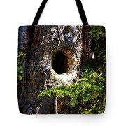 Critter Home Tote Bag
