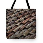 Croatian Roof Tiles Tote Bag