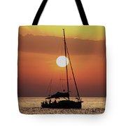 Croatian Sunset Tote Bag