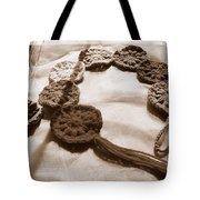 Crochet Chakras And Buddha Tote Bag