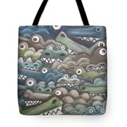 Crocodile Soup Tote Bag
