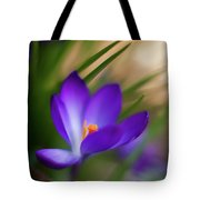 Crocus Light Tote Bag