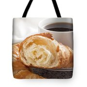 Croissants And Coffee Tote Bag