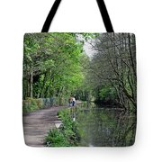 Cromford Canal - Tree Lined Walk Tote Bag