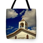 Crooked Creek Chapel Tote Bag